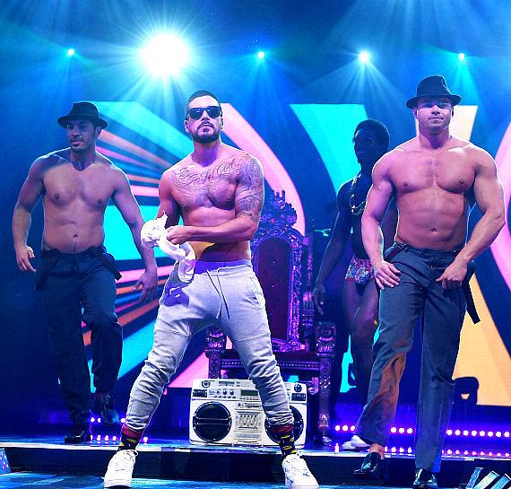 """""""Jersey Shore"""" Star Vinny Guadagnino (""""Vinny G."""") Makes Fist-Pumping Debut as Chippendales Celebrity Guest Host at Rio All-Suite Hotel & Casino in Las Vegas"""
