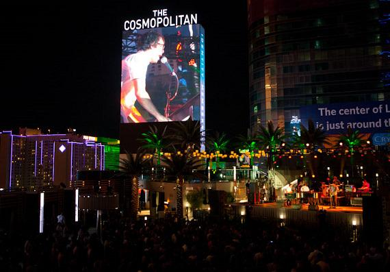 Ben Folds performs at The Boulevard Pool at The Cosmopolitan of Las Vegas