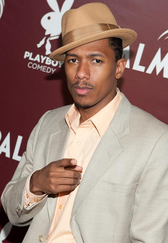 Nick Cannon at Playboy Comedy inside the Lounge at Palms Casino Resort
