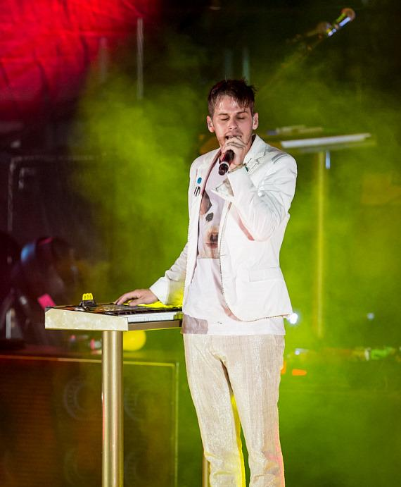 Foster the People performs at The Boulevard Pool at The Cosmopolitan of Las Vegas