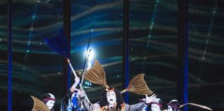 PHOTOS/VIDEO: Watch Kabuki Spectacle Tonight on Las Vegas Strip at Bellagio (August 15-16)