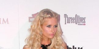 Paris Hilton, Carey Hart, Maxim Girls at Wasted Space