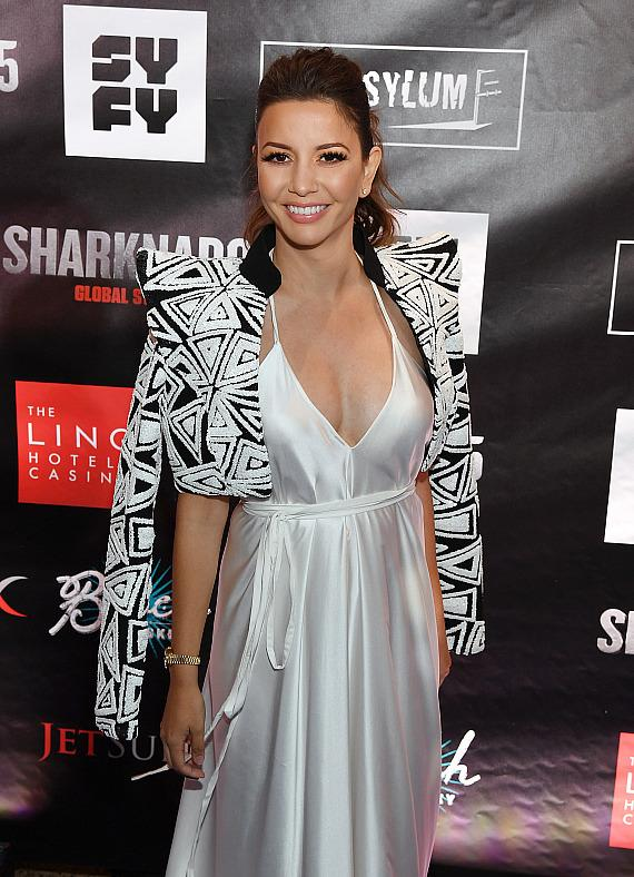 Actress Masiela Lusha attends the premiere of 'Sharknado 5: Global Swarming' at The LINQ Hotel & Casino on August 6, 2017 in Las Vegas, Nevada