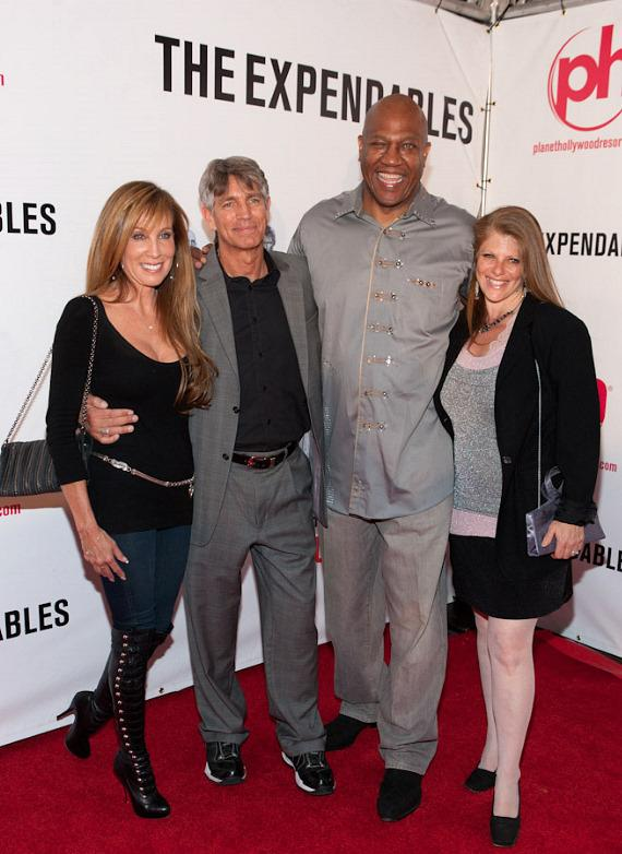 Tommy Lister (between Eric Roberts and Eliza Roberts)