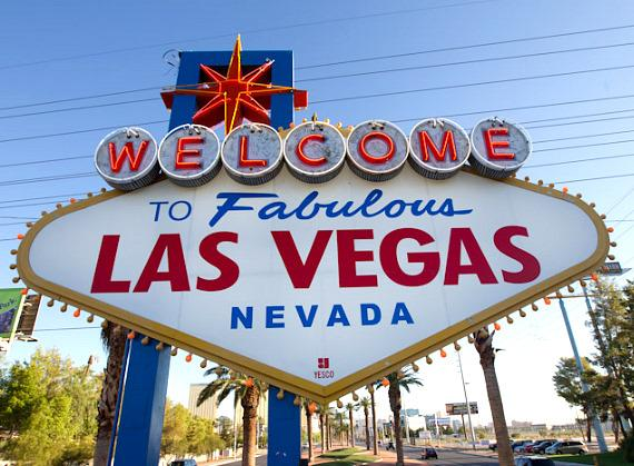"""The famous """"Welcome to Fabulous Las Vegas"""" sign"""