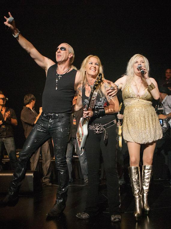 Dee Snider, Lita Ford and Sally Steele