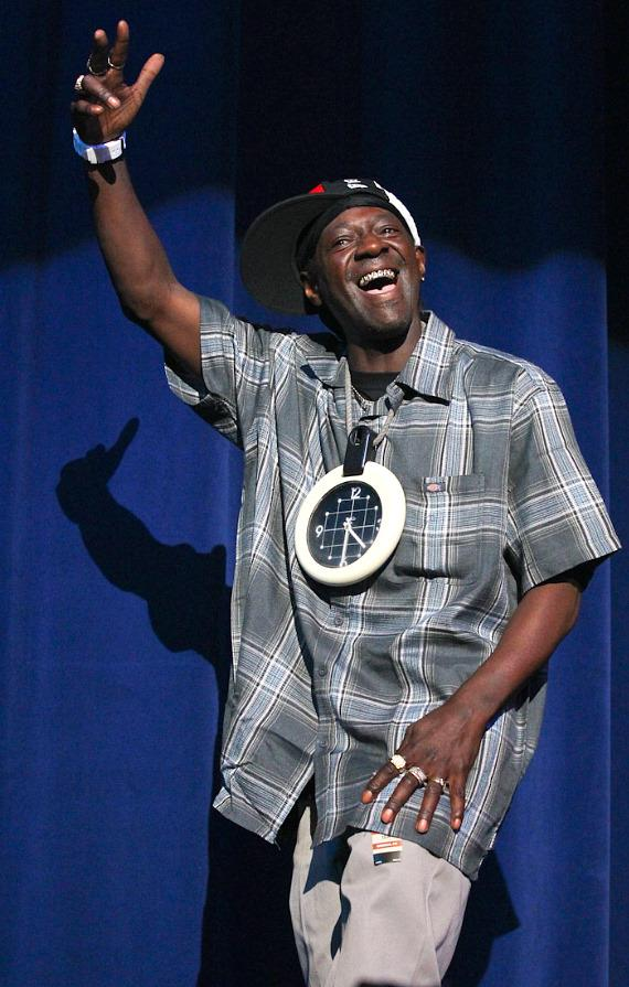 Flavor Flav will walk the red carpet at Mike Hammer's Celebrity Go-Kart Race