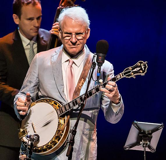 Steve Martin and The Steep Canyon Rangers perform at The Smith Center For The Performing Arts
