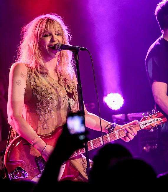 Courtney Love performs at Vinyl at Hard Rock Hotel in Las Vegas