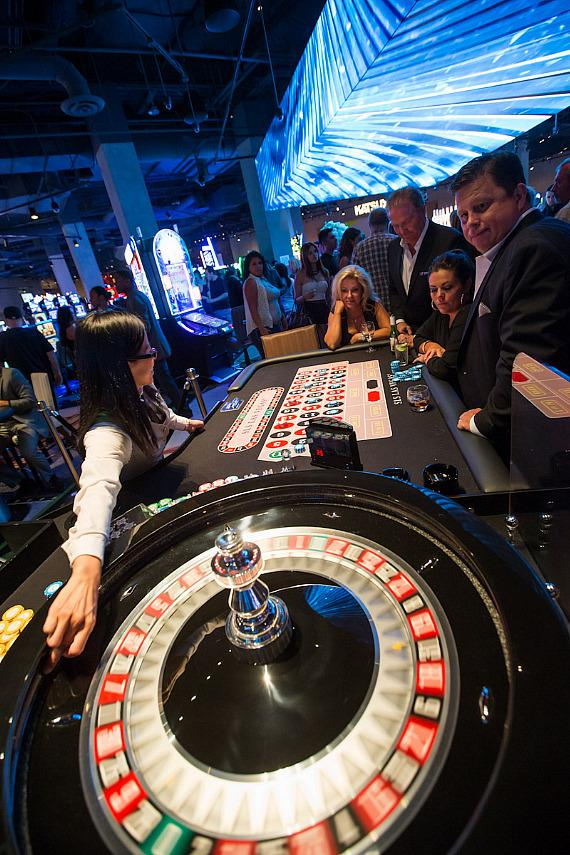 Roulette game at SLS Vegas
