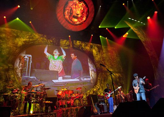 Carlos Santana at The Joint in Hard Rock Hotel in Las Vegas