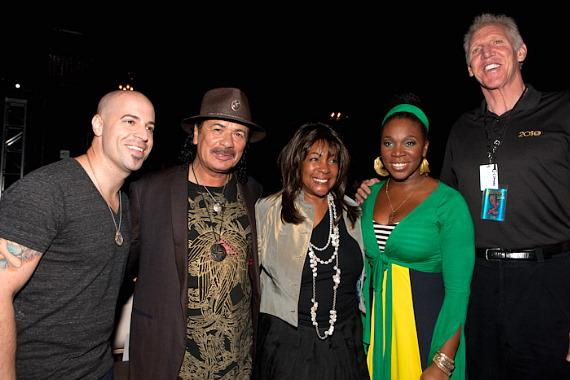 Clive Davis talks about Santana's new album