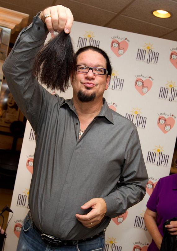 Penn with his pony tail