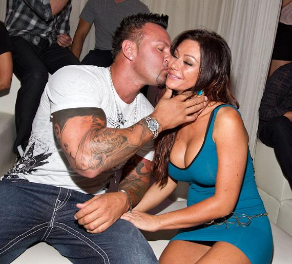 "'Jersey Shore' star Jenni ""JWoww"" Farley at PURE Nightclub"