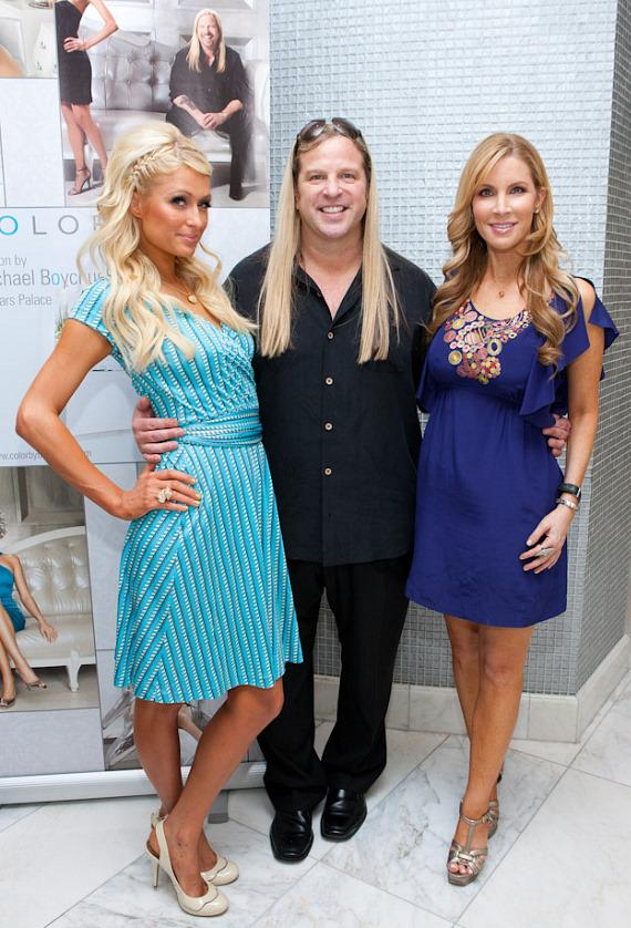 Paris Hilton at COLOR: A Salon at Caesars Palace