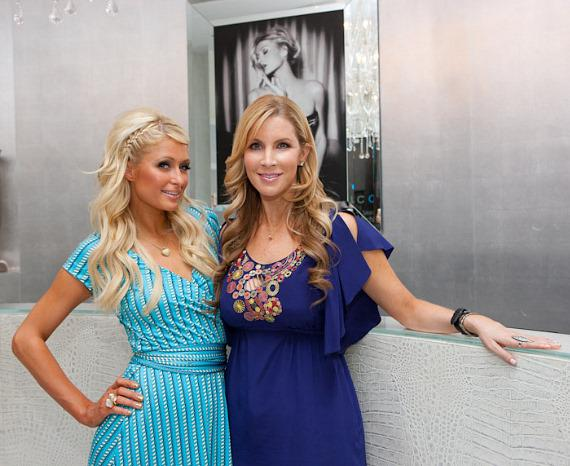 Paris Hilton and Alicia Jacobs