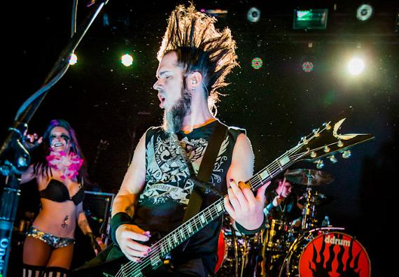 Static-X performs at Vinyl inside Hard Rock Hotel & Casino in Las Vegas