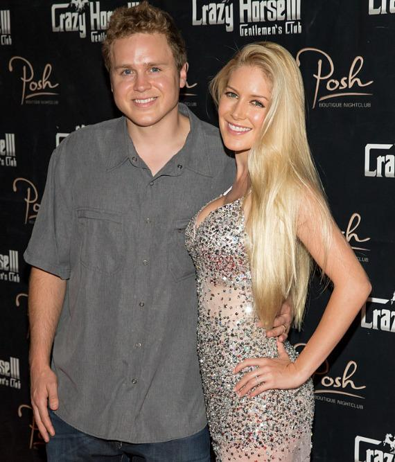 Heidi Montag with husband Spencer Pratt at Crazy Horse III