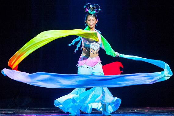 Elisa Chan performs during Talent Segment