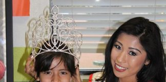 Miss Asian Las Vegas Catherine Ho Lets Little Girl Try on Her Pageant Crown