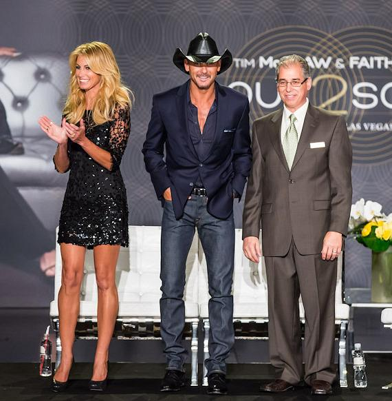 "Country Music Superstars Tim Mcgraw and Faith Hill Bring All-New ""Soul2Soul"" to The Venetian Las Vegas"