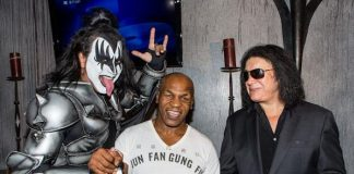 KISS Impersonator Luis Reyes, Mike Tyson and Gene Simmons