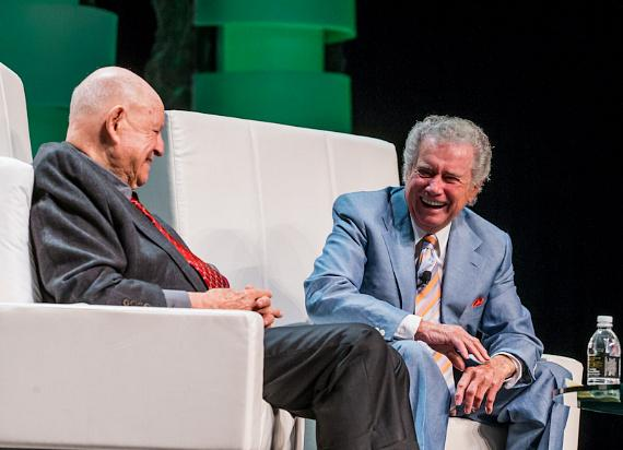 Regis Philbin hosts Annual Weldbend Breakfast with Surprise Guest Don Rickles