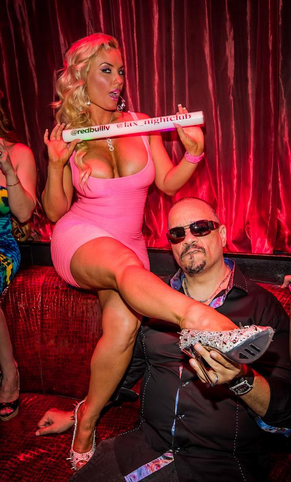 Ice-T and Coco at LAX Nightclub