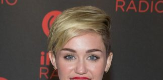Miley Cyrus on Day 2 of iHeartRadio Festival in Las Vegas