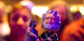 Two legends: photograher Erik Kabik and guitarist Jerry Garcia