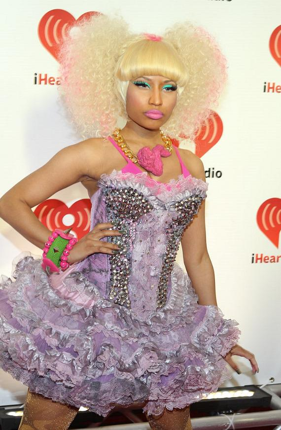 Nicki Minaj at iHeartRadio Music Festival