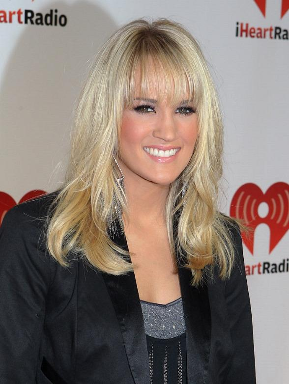 Carrie Underwood at iHeart Radio Music Festival