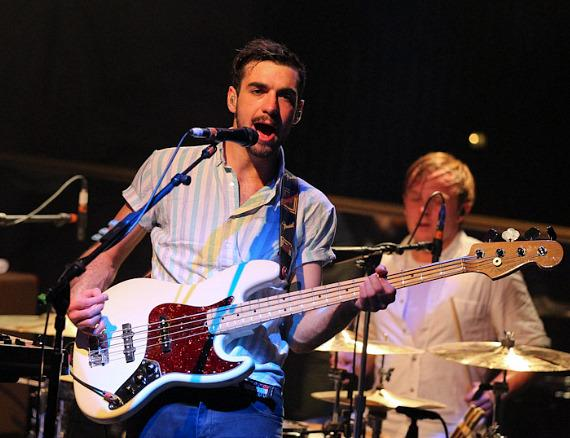 Two Door Cinema Club performs at Body English in Hard Rock Hotel Las Vegas