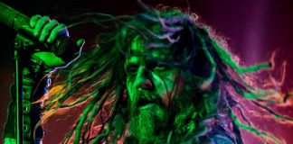 Rob Zombie Performs at Rock Vegas Festival at Mandalay Bay