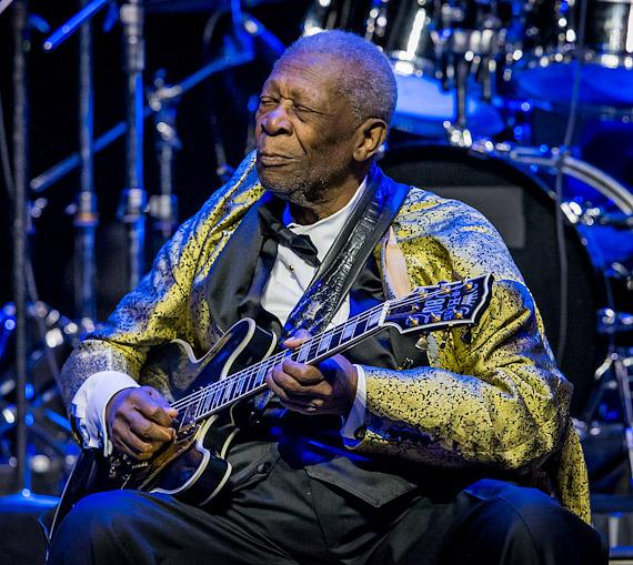 B.B. King performs at The Joint at Hard Rock Hotel & Casino