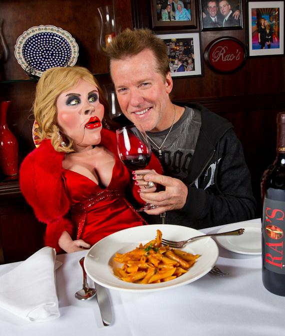 Jeff Dunham dines at Rao's with Diane
