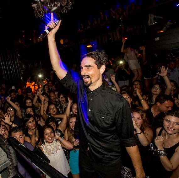 Kevin Richardson at Backstreet Boys Official Concert After Party at Body English