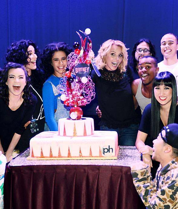 """Britney Spears Celebrates One-Year Anniversary of """"Britney: Piece of Me"""" at Planet Hollywood Resort & Casino"""