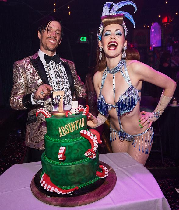 """Absinthe Celebrates Seven Years in Las Vegas with """"The Gazillionaire's Gala of Gluttony"""""""