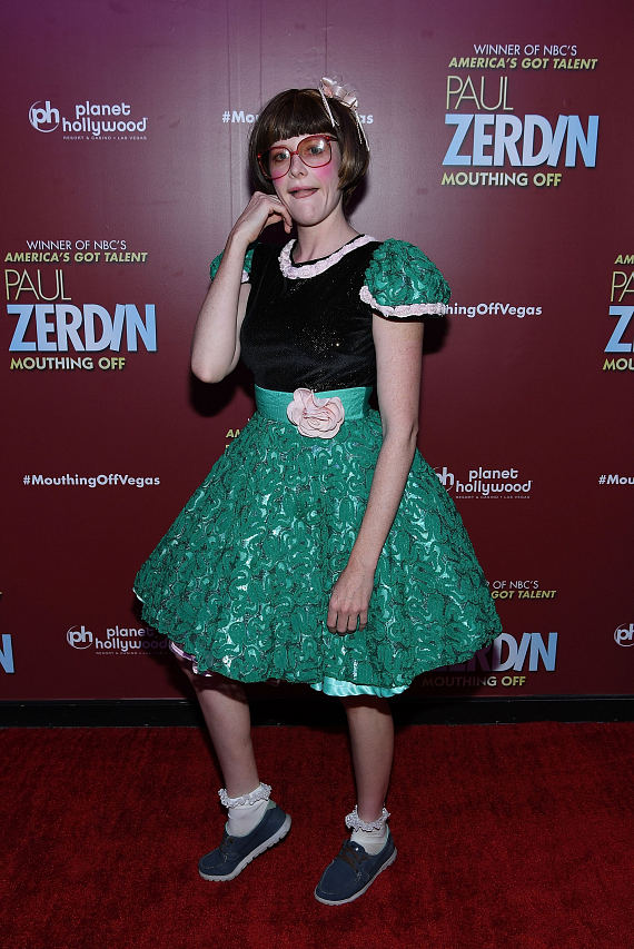 ABSINTHE Star Joy Jenkins at Opening Night of PAUL ZERDIN MOUTHING OFF at Planet Hollywood Resort & Casino