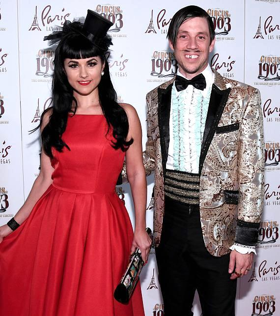 ABSINTHE's The Gazillionaire and Green Fairy Melody Sweets Attend Opening Night of CIRCUS 1903 at Paris Las Vegas