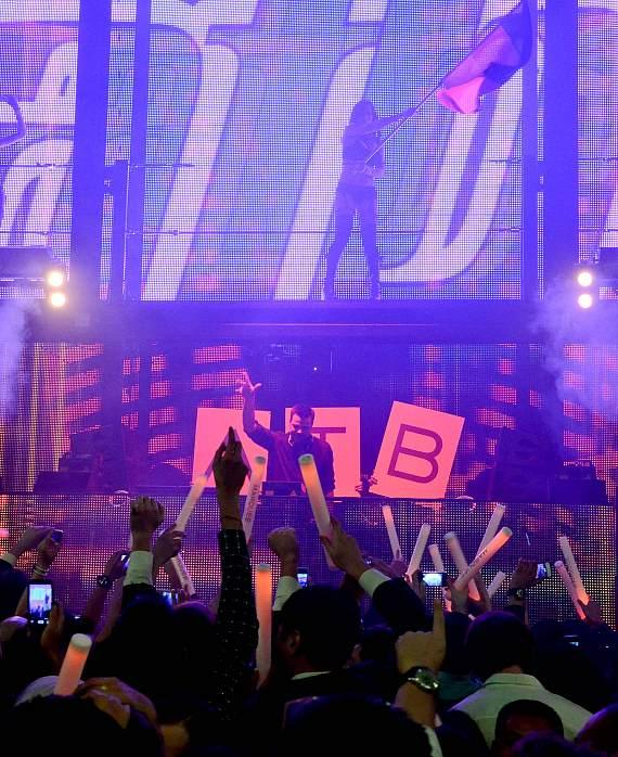 ATB performs at Marquee