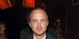Aaron Paul at LAVO