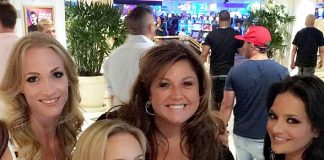 """Dance Moms"" instructor Abby Lee Miller attends ""X Burlesque"" at Flamingo Las Vegas"