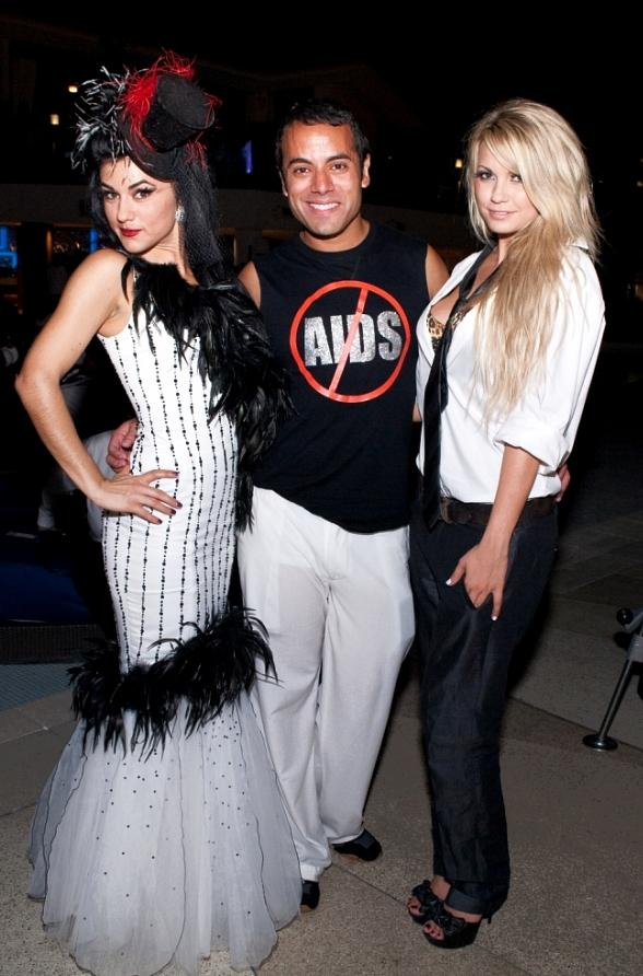 Absinthe's Melody Sweets, Chris Saldana and Absinthe's Angel Porrino