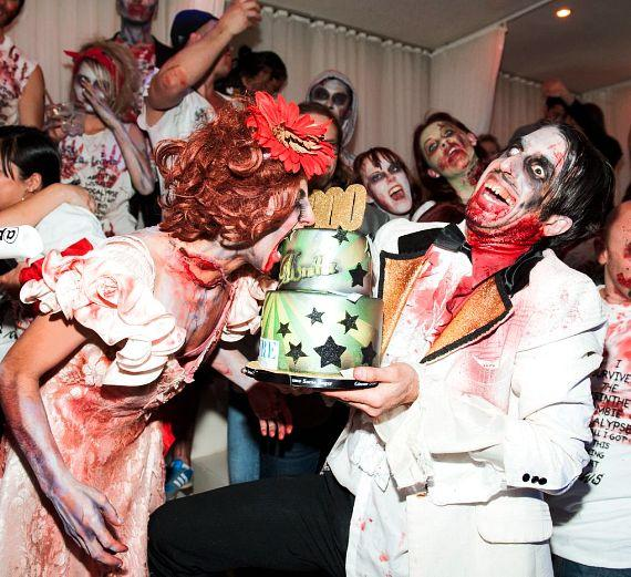 ABSINTHE Celebrates Two Successful Years on The Strip with a Zombie Invasion