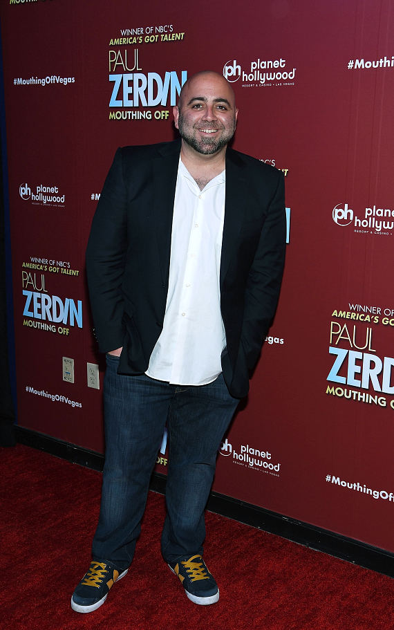 """Ace of Cakes"" Star Duff Goldman at Opening Night of PAUL ZERDIN MOUTHING OFF at Planet Hollywood Resort & Casino"