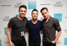 """Actor Jonathan Bennett Attends """"Mat Franco - Magic Reinvented Nightly"""" at The LINQ Hotel & Casino"""