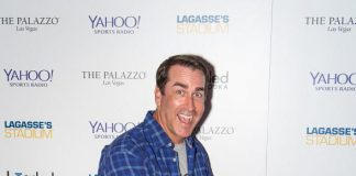 Rob Riggle, Warren Moon, Ken Thomson, Damarious Randall Celebrate Grand Opening of New Broadcast Studio