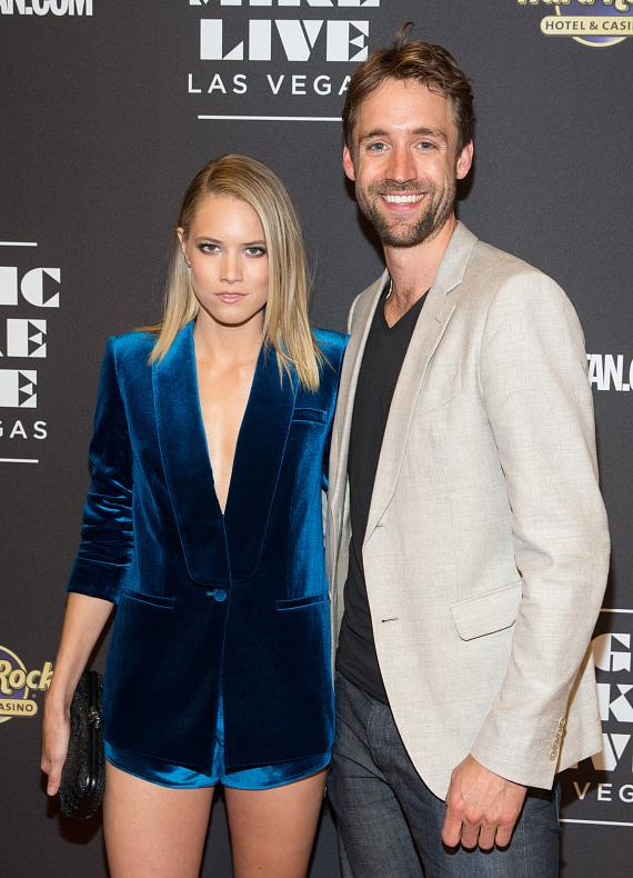 Actress Cody Horn and Reid Carolin Attend Opening Night of MAGIC MIKE LIVE LAS VEGAS at Hard Rock Hotel & Casino